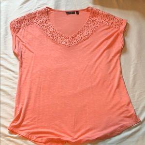 Apt. 9 orange blouse